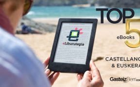 TOP5 ebooks en castellano y euskera